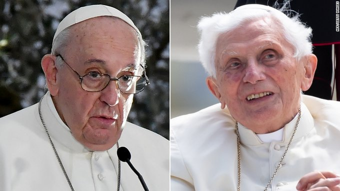 Pope Francis and former Pope Benedict get first dose of Covid-19 vaccine Photo