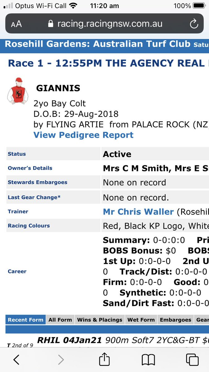 @NBA @Giannis_An34 They've named a race horse after him over here in Australia.