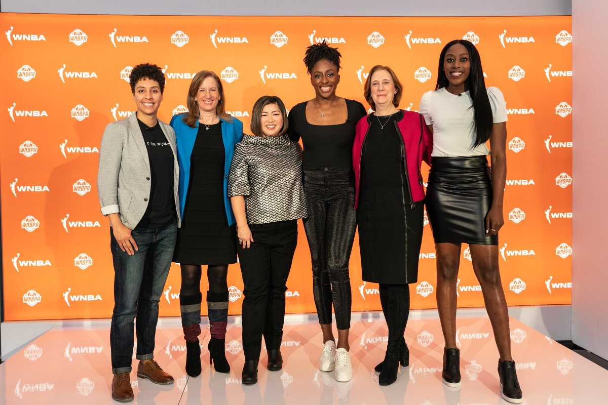 One year ago today, history was made 🧡 @TheWNBPA