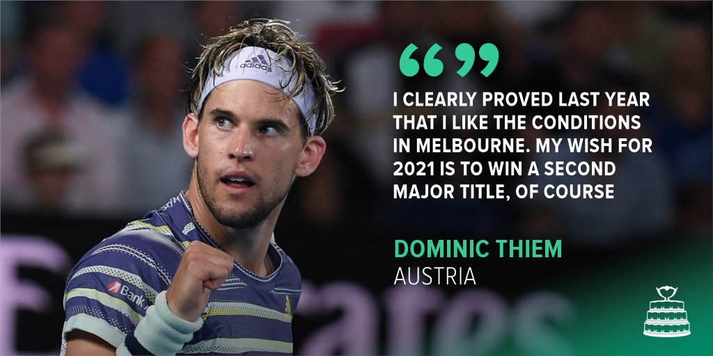 Eyes on the prize for @ThiemDomi 🏆 👀  #DavisCup
