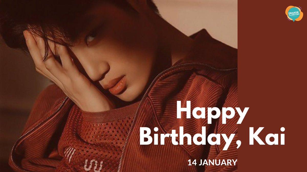 Happy Birthday, Kim Jong In (Kai - EXO)  #drakorclass #exol #kaibirthday #birthdaywish #kimjongiin