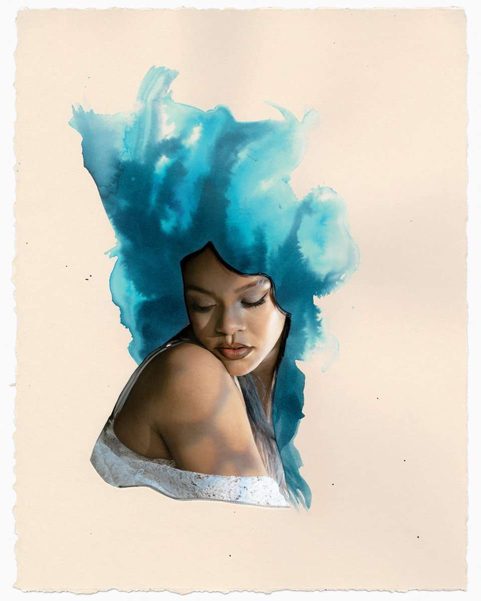Lorna Simpson Of Earth & Sky, 2020 Photographic collage Dimensions variable © Lorna Simpson Courtesy of the artist and Hauser & Wirth   @Essence