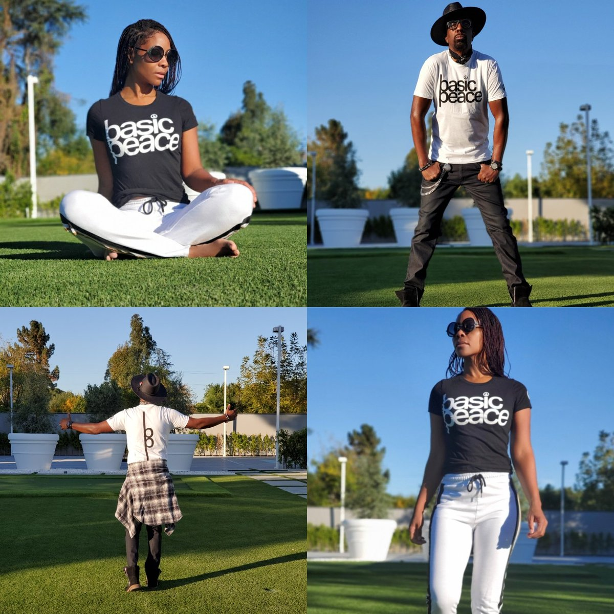 It's a Lifestyle Brand! Get Right! #apparel #basic #peace #tees