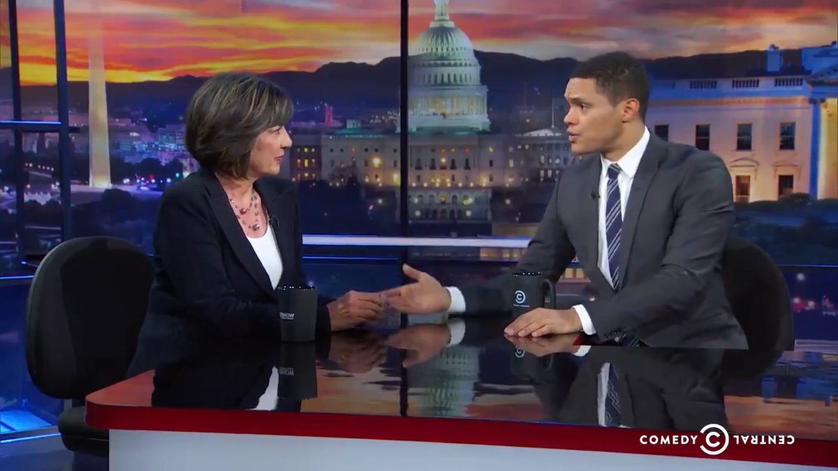 """Throwback to @camanpour on """"being truthful, not neutral"""" as a journalist and the prospect of autocracy in America."""