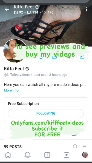 3 pic. Subscribe to @kiffadeusa onlyfans U$ 12🤑 sensual/nudist footjob/Joi  Footfetish https://t.co/SkRY7W8vBh  Domination/Humiliation U$