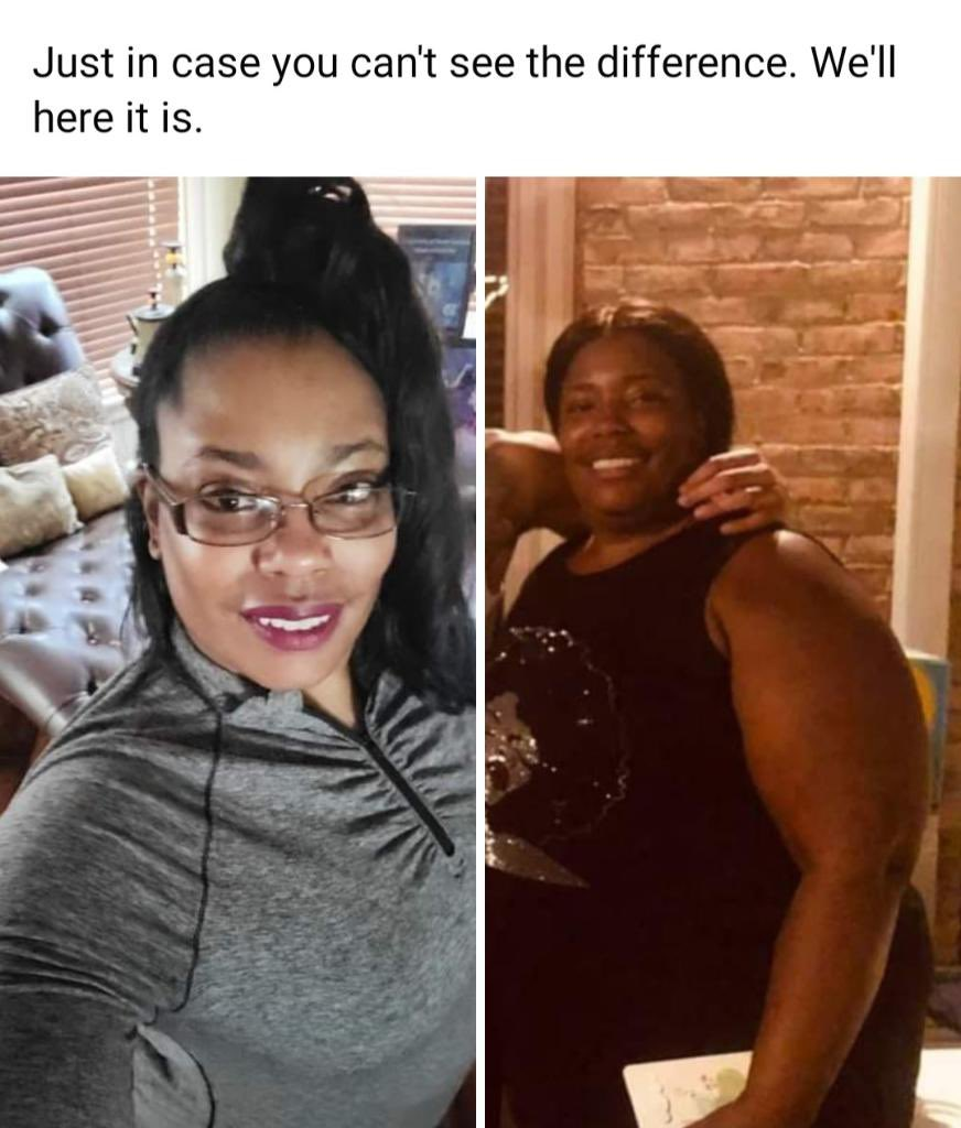 Big shoutout to momma choppa off trusting me with helping her eat a vegan diet, drinking the teas she need, and on her end, the determination to keeping her health right. She has lossed over 20 pounds let's give her some encouragement so she can keep going @AngeletaPotts 💜
