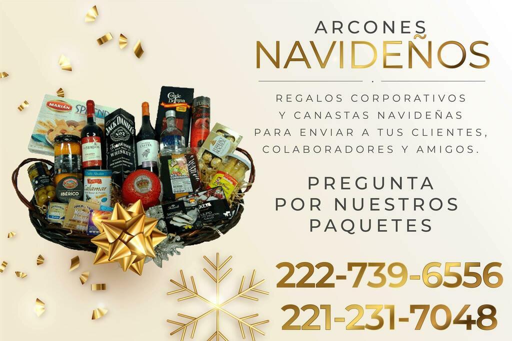 ¿Ya tienes listo tu regalo? Regalos corporativos y canastas navideñas para enviar a tus clientes, colaboradores y amigos. Pregunta por nuestros paquetes. Llámanos: 222-739-6556 y 221-231-7048. #navidad2020 #pueblacity #Puebla #arcones #regalos #clientessatisfechos #amigos
