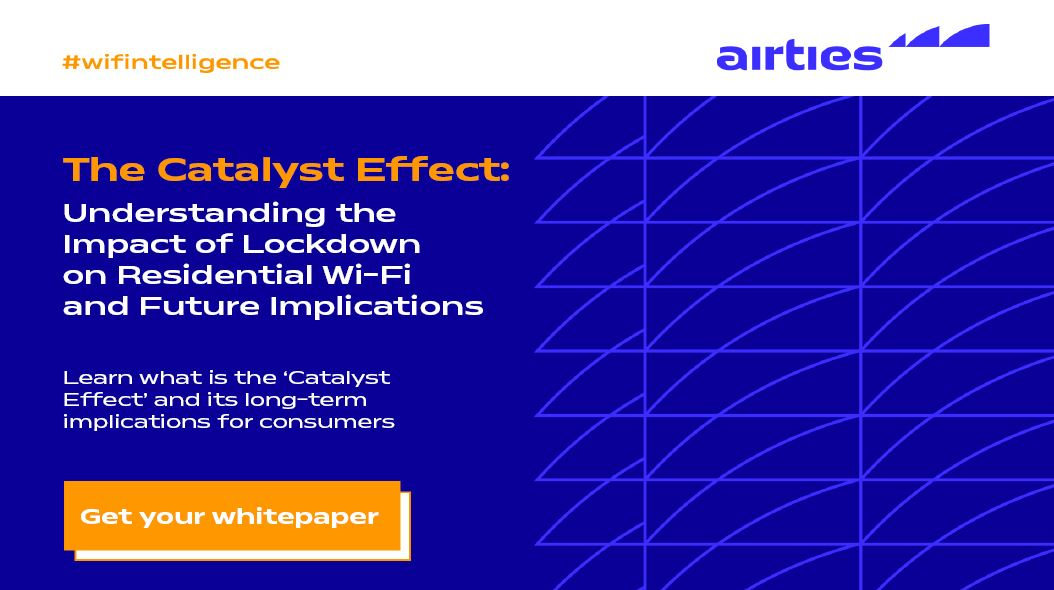 To learn the impact of lockdown on residential Wi-Fi and the important implications for the future of Internet service providers, visit our virtual booth at #CONNSummit21 and download your whitepaper! https://t.co/wQ8rYAMdhX  #wifintelligence #WiFi #CES2021 https://t.co/sh5TmTN9Zo