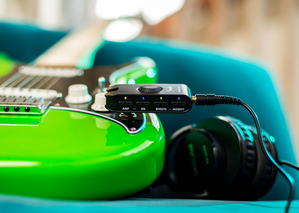 A tiny horse of your own. @Fender's new Mustang Micro packs 12 amps and 13 effects into a rechargeable headphone amp with Bluetooth streaming so you can jam along to your favorite songs and videos.   Learn more at  #guitarcenter #whywemakemusic