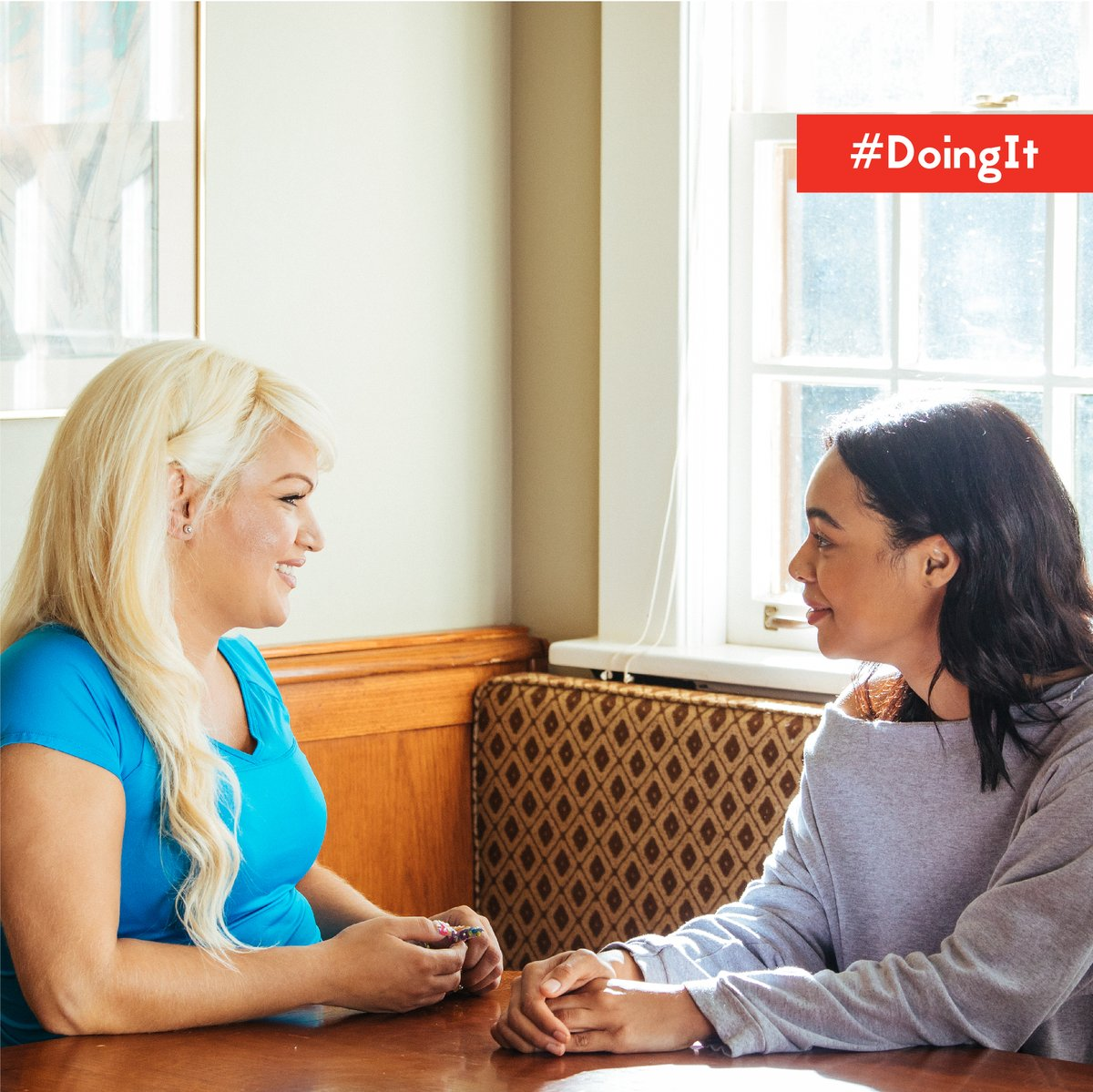 You don't have to do it alone! Invite a friend to go get tested for #HIV today and find out your status together! Find a location near you:  #DoingItTogether #StopHIVTogether