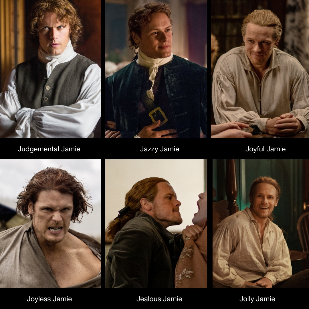 Jazzy Jamie for the win! #Outlander