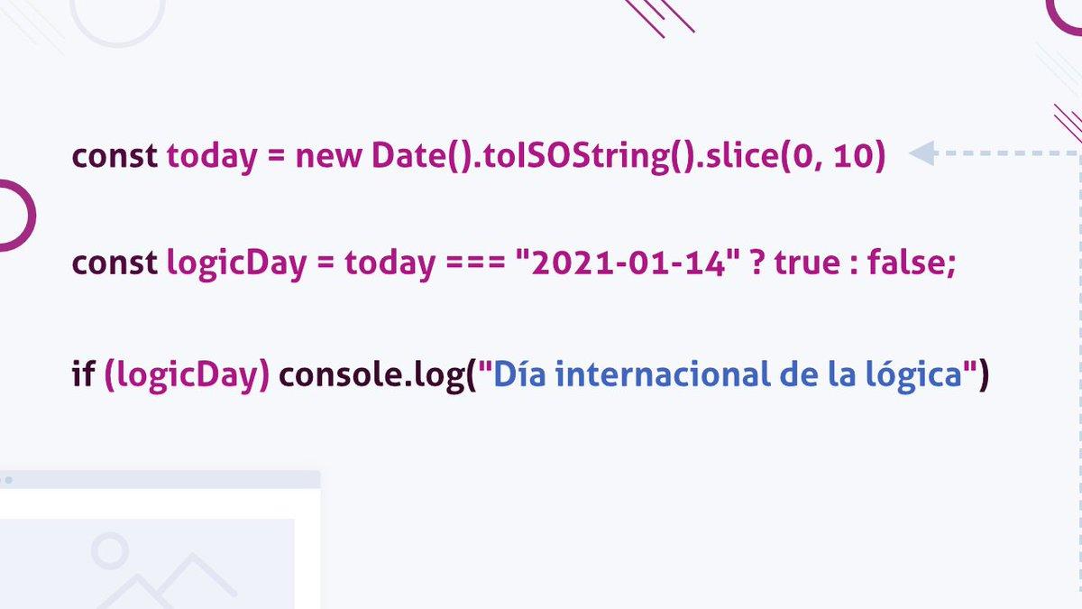 Hoy ha sido el día internacional de la lógica, parte indispensable de nuestro trabajo.   Disfrutamos desarrollando herramientas a medida que ponen a prueba todos los límites.  Gracias por confiar en ITEISA para transformar vuestras empresas. #LogicDay #Díainternacionaldelalógica