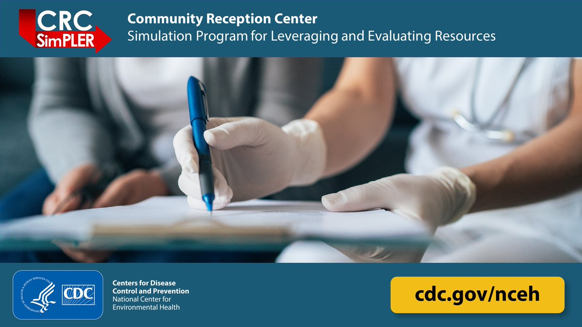 NEW! CDC's #CRCSimPLER is a free, easy-to-use, online tool for public health planners to accurately estimate resources needed for population monitoring after a radiation emergency. Learn more: .