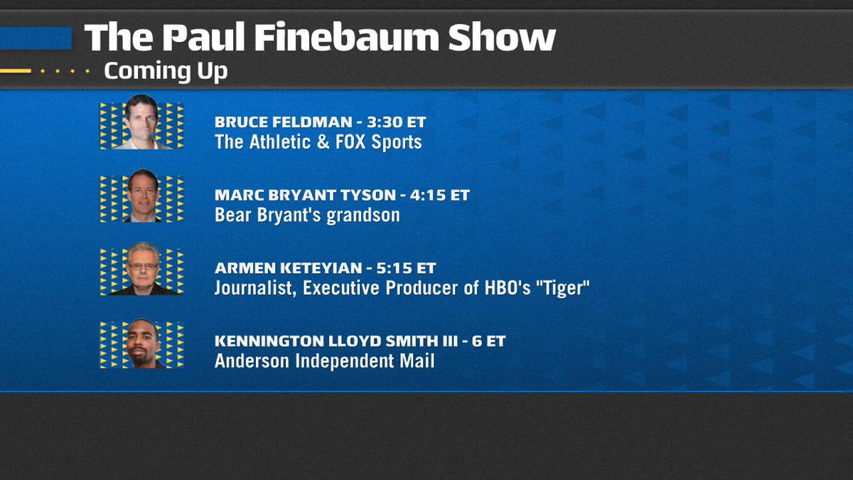 Replying to @finebaum: We are LIVE on @SECNetwork & @ESPNRadio. Join the action on the air by calling 855-242-7285.