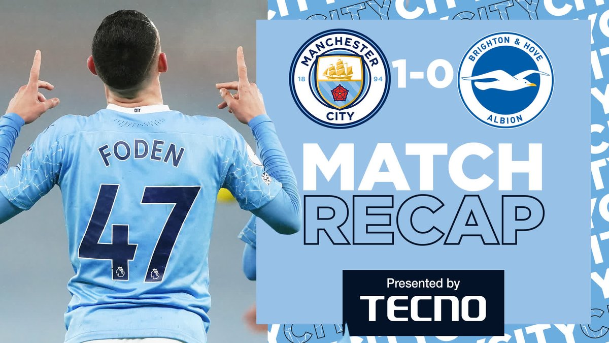 𝐌𝐚𝐭𝐜𝐡 𝐫𝐞𝐜𝐚𝐩 ⏮  An alternative look at our latest win...  ⚽️ @tecnomobile  🔷 #ManCity |