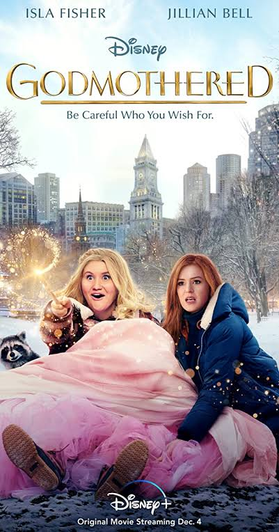 Godmothered tries to hard to be Enchanted and falls miles behind. And climax was too over the top and lame. But it is a watchable movie if you like Fantasy Films. And Performances by Jillian Bell and Isla Fisher were nice. https://t.co/VJe3g9TbsS