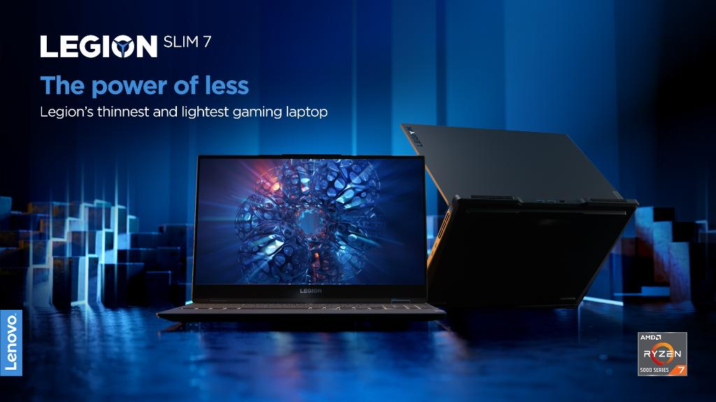 Identify the essential.  Eliminate the rest.   Our engineers truly channel the power of less when building the Legion Slim 7; bringing you revolutionary performance in an impossibly thin & light gaming laptop.   #PoweringTheImpossible #CES2021 #LenovoCES   https://t.co/ksugKtBGRV https://t.co/ghVfy3EEAW