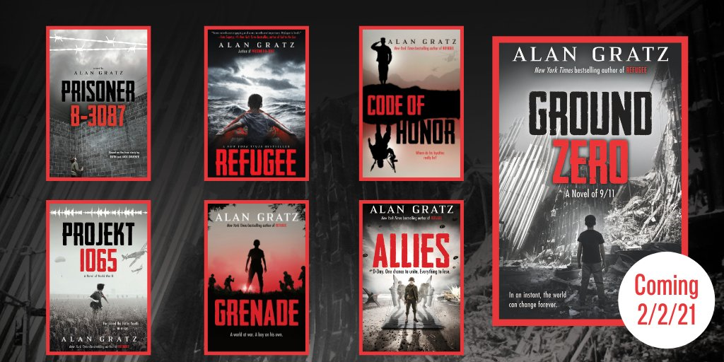 With #GroundZero, master storyteller @AlanGratz delivers a pulse-pounding and unforgettable take on history, hope, revenge, and fear. Start reading:  Coming 2/2.