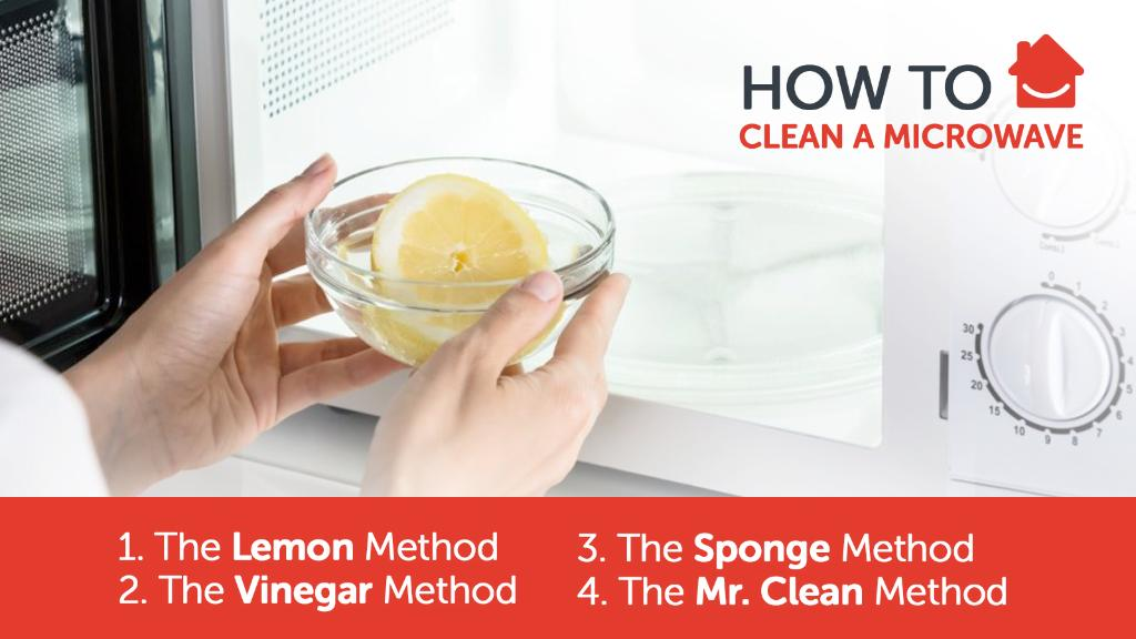 Is this inside of your #microwave looking like a Jackson Pollock? Test out these #cleaning methods to get the inside back to shiny & pristine! ✨