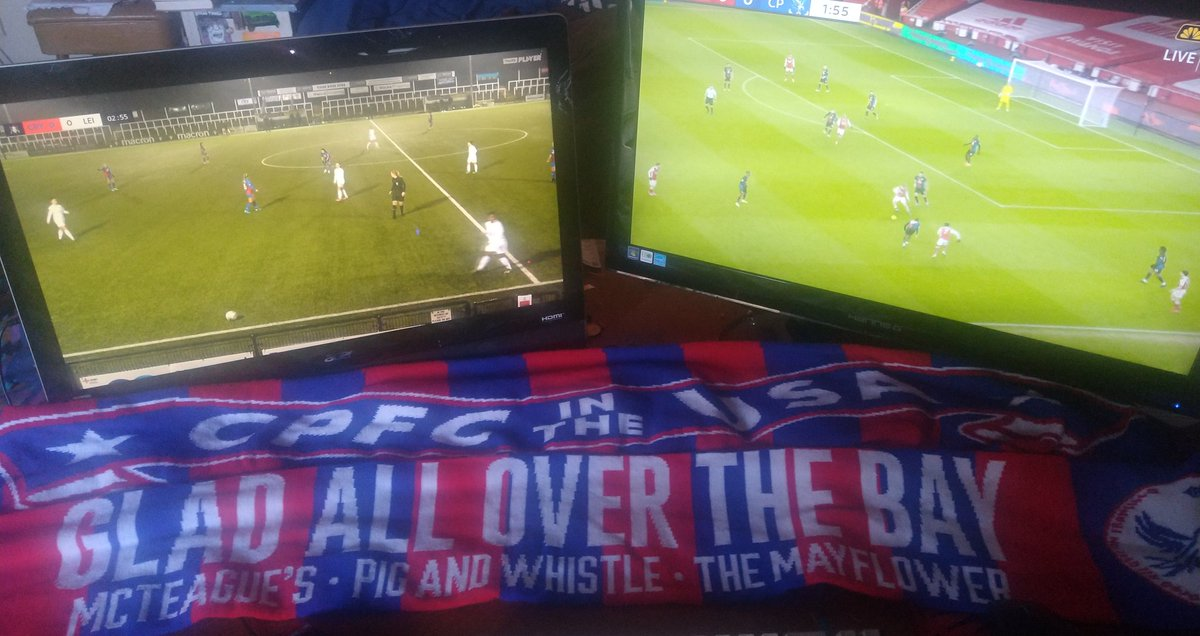Replying to @holmesdaleUSA: Double duty @cpfc_w @cpfc #CPFC  #crylei #ARSCRY COME ON YOU PALACE #myplmorning