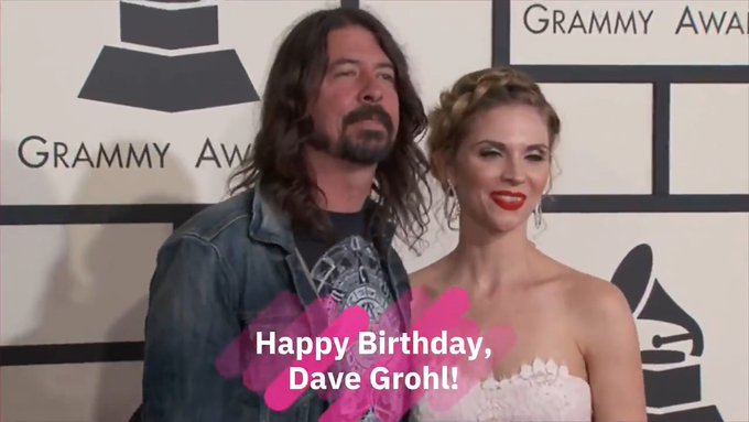 Happy Birthday, Dave Grohl!