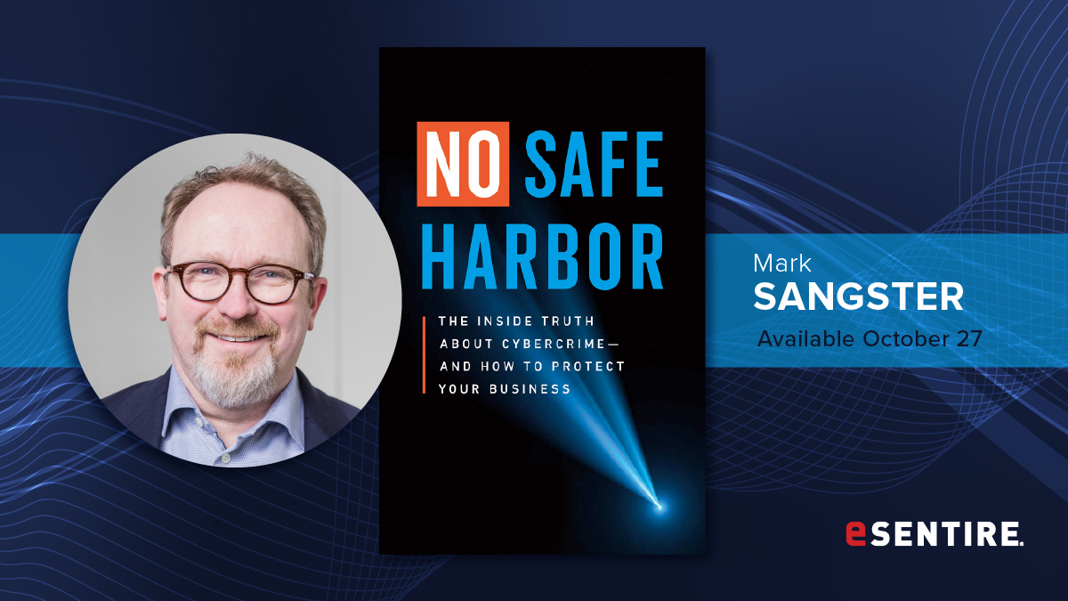 """#Cybercriminals breach the defenses of big companies and attack small businesses. Get a copy of """"No Safe Harbor: The Inside Truth About #Cybercrime and How To Protect Your Business"""" by VP @mbsangster today! 👉  #cybersecurity #NSHbyMbSangster #LearnTheRisk"""
