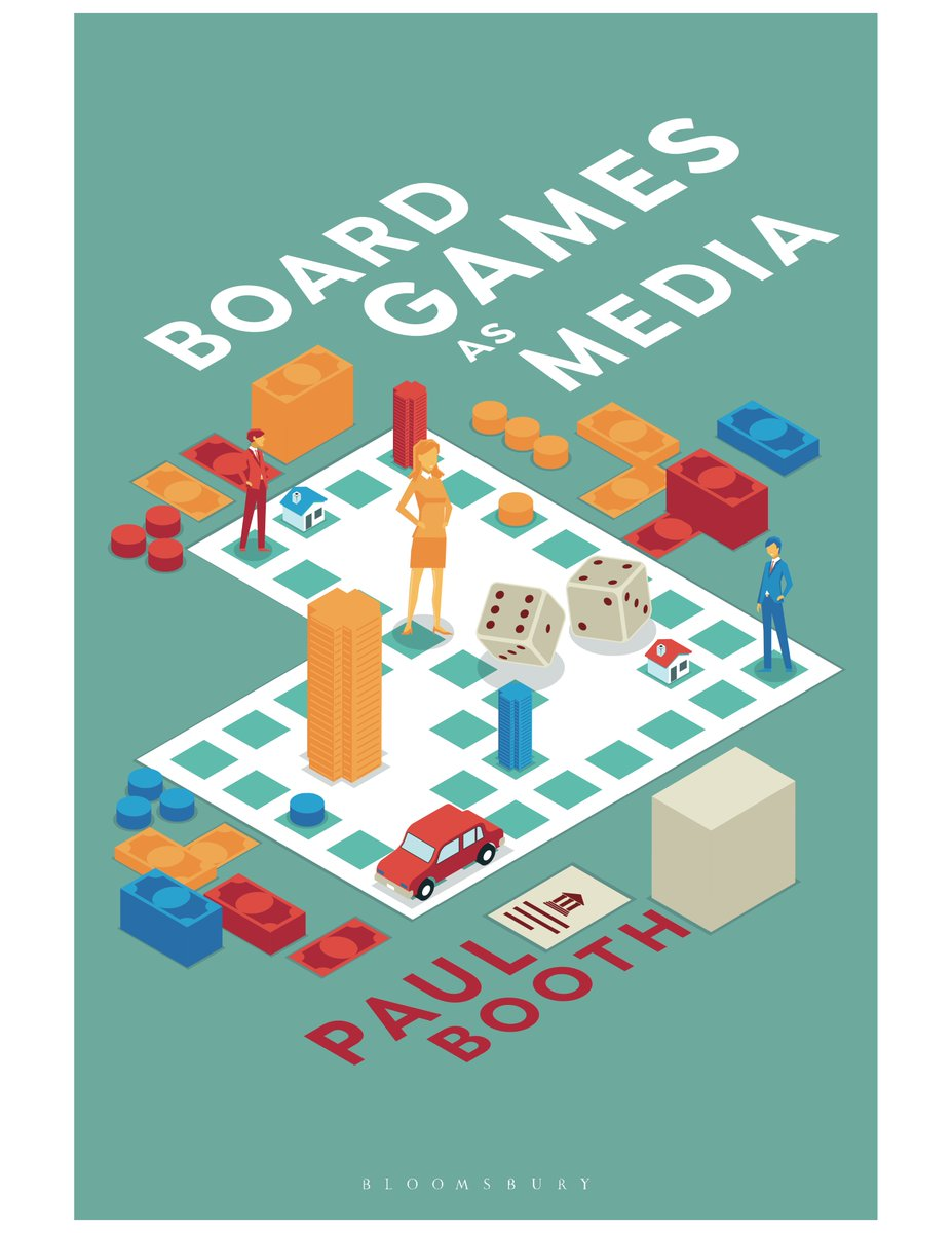 Todays the day for #BoardGamesAsMedia! In honor of the publication date of my newest book (from @BloomsburyAcad), Im going to be playing some of my favorite games. Wont you join me? bloomsbury.com/us/board-games…