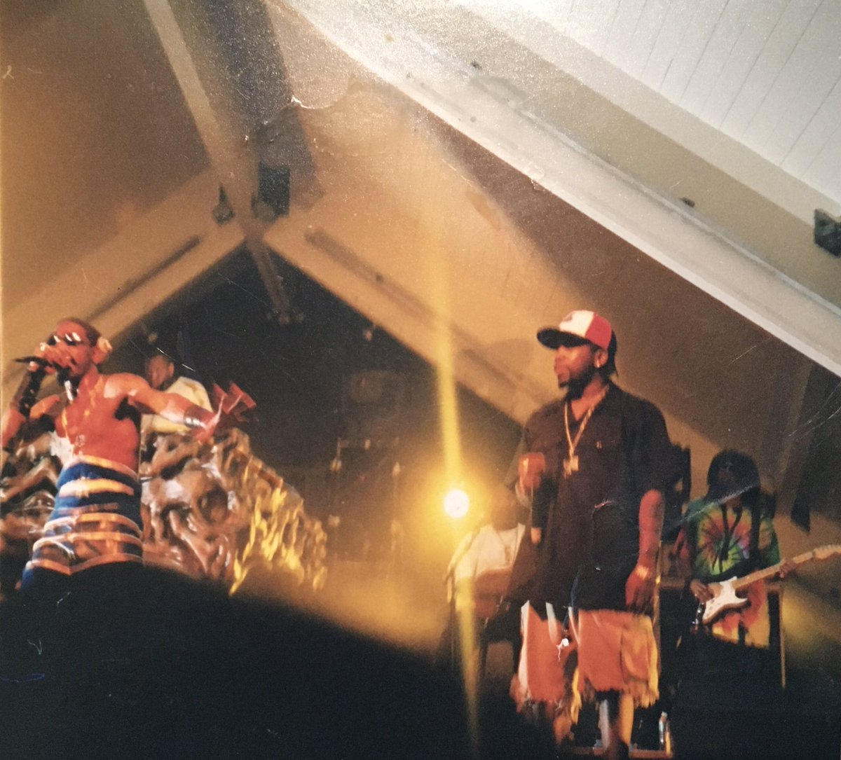 #TBT April 12, 2001 - Some little known acts by the names of @Outkast, @Ludacris, and @TheRoots performed a free show at the @UF Bandshell! (It was WILD!!!) And I crossed paths with Luda afterwards! Something I've yet to do since living in the ATL. 🤔