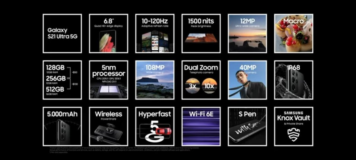 all the specs of  #GalaxyS21 are here  #SamsungUnpacked