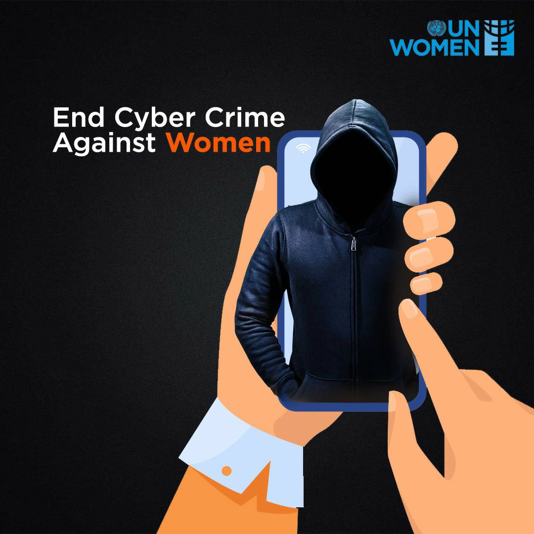 Whether it is a rape threat, hate comment or an explicit photo posted online non-consensually, Women everywhere feel the brunt of online harassment everyday. Working towards stricter cyber laws and intervention is more important now than ever. #BuilBackBetterAndEqual