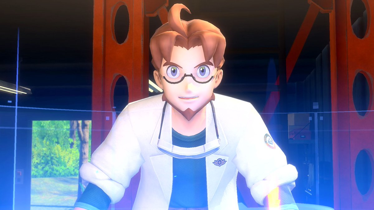 Professor Mirror is a leading researcher in the Lental region and he's in charge of the Laboratory of Ecology and Natural Sciences (L.E.N.S.). You'll be using your trusty camera to help him with his Pokémon research. #NewPokemonSnap