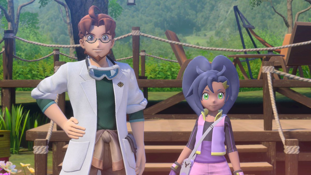 Rita is Professor Mirror's research assistant. She's eager to teach you about the islands of Lental and the Professor's ecological survey.