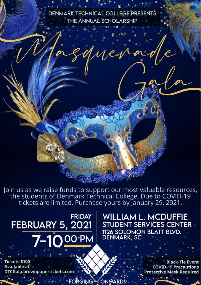 Have you RSVP'd to our Scholarship Masquerade Gala? Get your tickets today and support the students of our small, rural HBCU.
