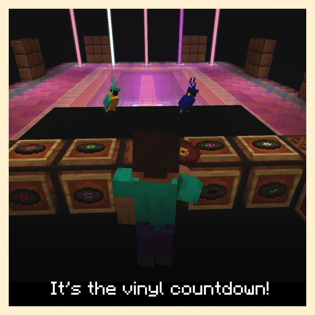 Better match those dancing shoes with some sturdy armour, because collecting every music disc will require plenty of adventuring!  Learn all about this scattered collection of absolute jams:  ↣  ↢