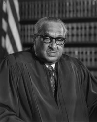 ON this day in history President Johnson appoints Thurgood Marshall as the first African-American to the Supreme Court of the United States