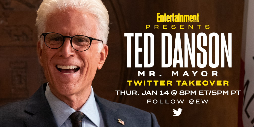 Today is the day! #MrMayor's @TedDanson is taking over our Twitter this evening to livetweet during tonight's brand new episode. Join us!