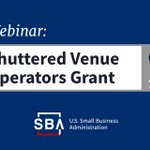 Image for the Tweet beginning: Join SBA's webinar on the