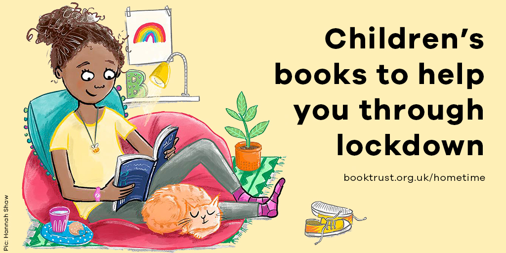 From rhymes that will get you dancing round the kitchen to stories that will help you all forget about the world for a while, we've picked out some brilliant books to get your family through lockdown!   Check out our recommendations on #BookTrustHomeTime: