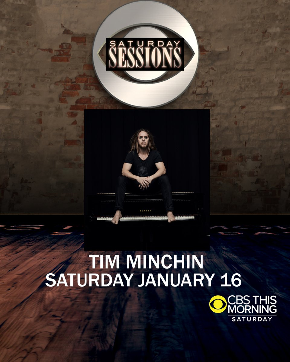 News: USA! Tim will be interviewed on @CBSThisMorningthis Saturday, and he'll perform three songs from#ApartTogetherAlbum.🎶  The show airs 7-9am EST. You can check outwhen and where to watch in your cityhere:   #SaturdaySessions