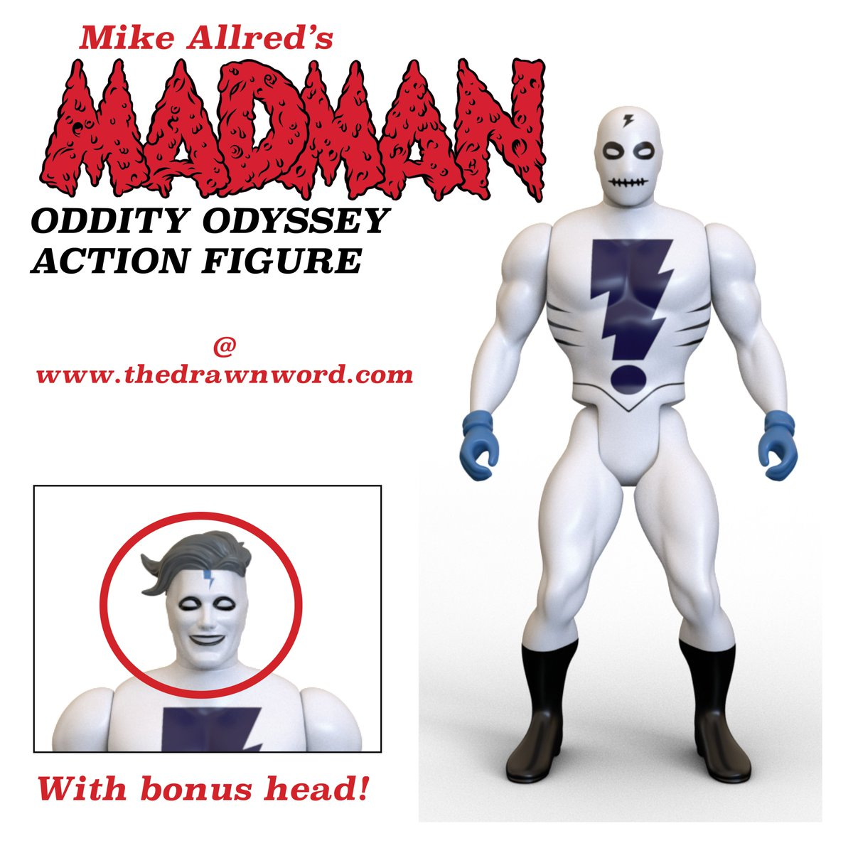 PLEASE SHARE! The Madman Oddity Odyssey figure is the FEATURED project in comics today on @Kickstarter!