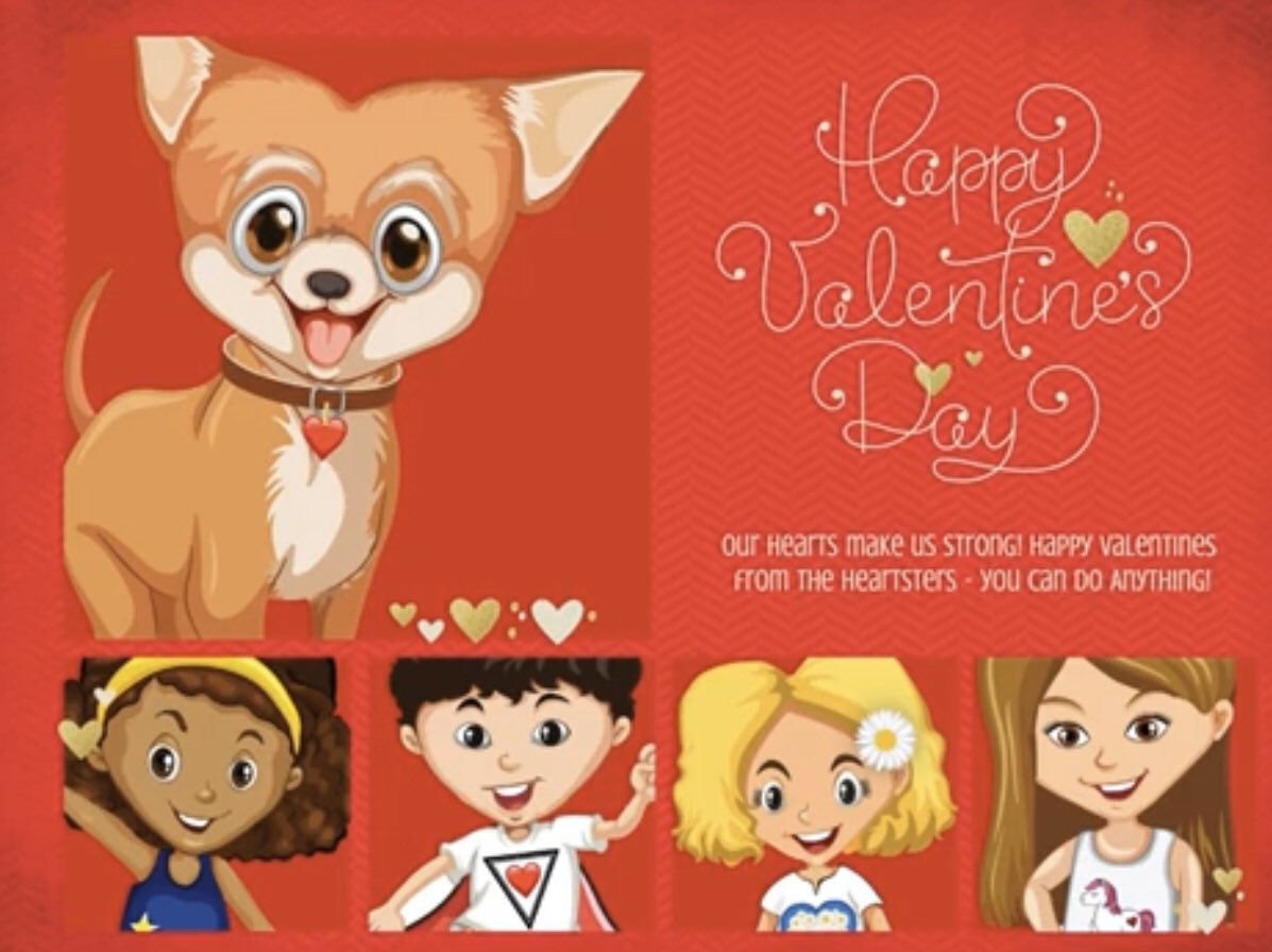 Heartsters is excited to launch our Valentines Day eCards! Send your family, friends, and caregivers a personalized Valentines Day eCard from the Heartsters! 50% of the sale goes to the American Heart Association.#ecard #valentinesday #hearthealth #heartdiseaseawareness #chd