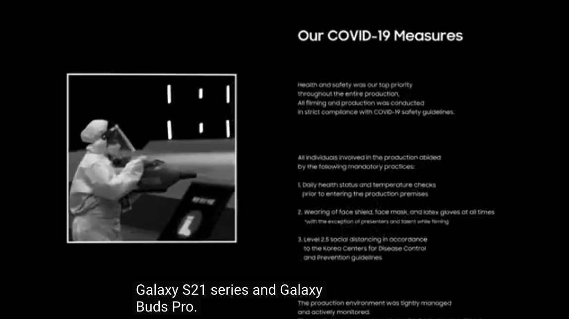 y termina el #SamsungUnpacked con una mencion de #Generation17, el programa social de liderazgos nóveles promocionados por @Samsunglatin y un recuerdo de las precauciones que se tomaron ante el #COVID19 al preparar este evento.