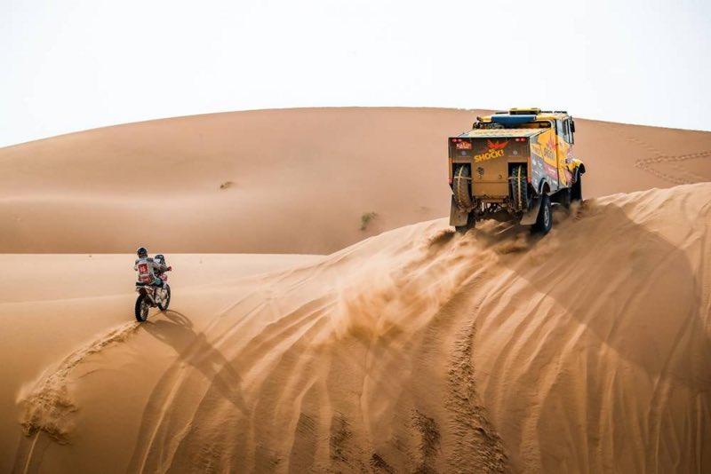 العطية يفوز بالمرحلة 11 من رالي داكار.. و كوينترو في صدارة فئة المركبات الخفيفة.
