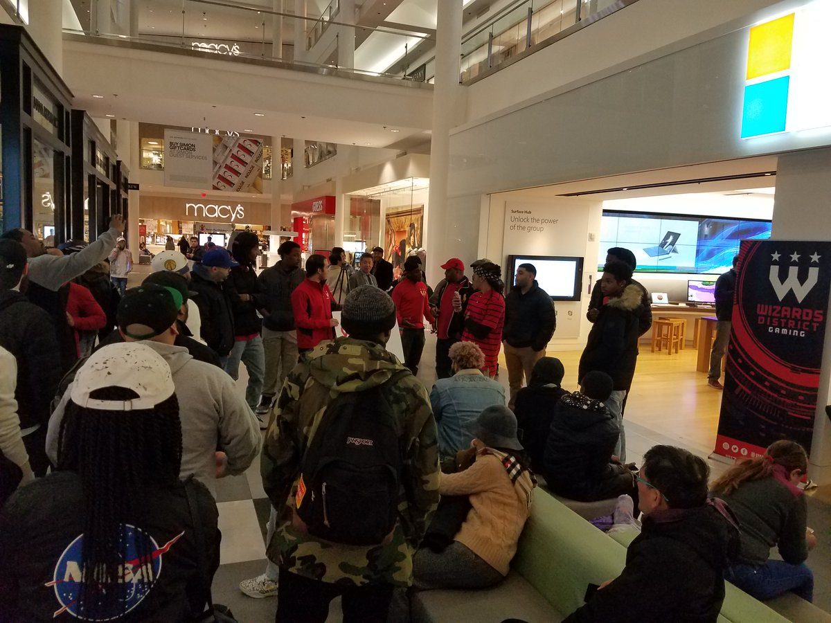 Jan 14, 2018 - drove up to DC for the @WizardsDG @NBA2KLeague event at the @MicrosoftStore - first time I had I ever been to DC  #NBA2k , friends, connections, and got some gear to bring back!  #NBA2K21NextGeneration @NBA2K #Xbox