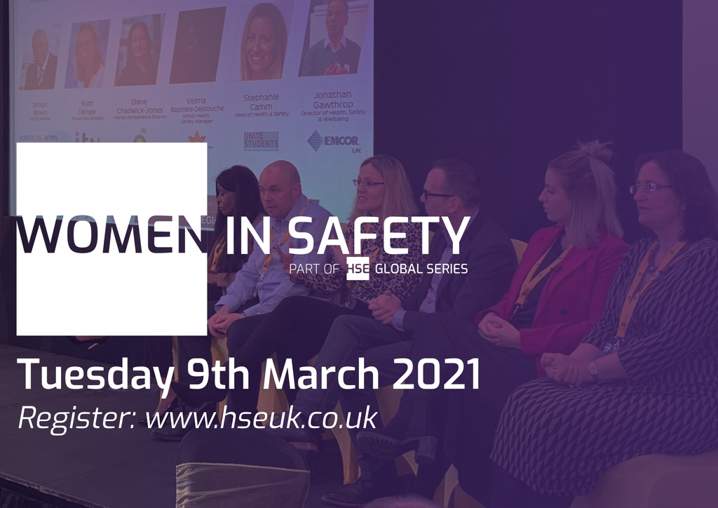 🙌 HSE Global Series is delighted to announce a 1 day Women In Safety event on Tuesday 9th March 2021.   #HSEGlobalSeries #WomenInSafety #HSE #Safety #InternationalWomensDay #ChooseToChange