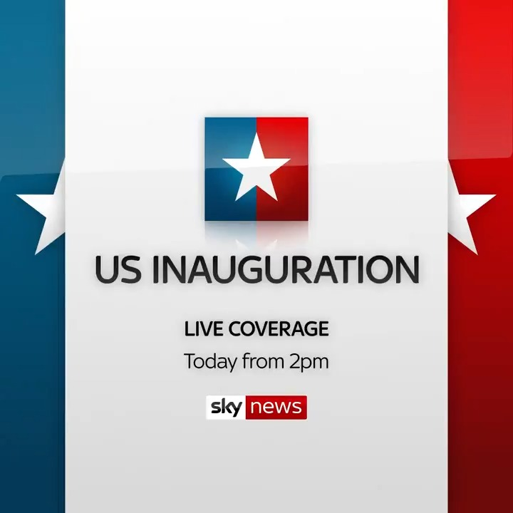 🇺🇸 Can Joe Biden restore calm and unite the states of America?  Follow live coverage of Mr Biden's #inauguration to become the 46th president of the United States on Sky News from 2pm.  📺 Sky 501 / Freeview 233   📱