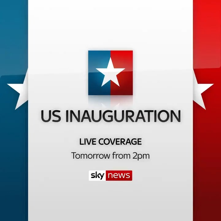 🇺🇸 Can Joe Biden restore calm and unite the states of America?  Follow live coverage of Mr Biden's inauguration to become the 46th president of the United States on Sky News tomorrow from 2pm.  📺 Sky 501 / Freeview 233   📱