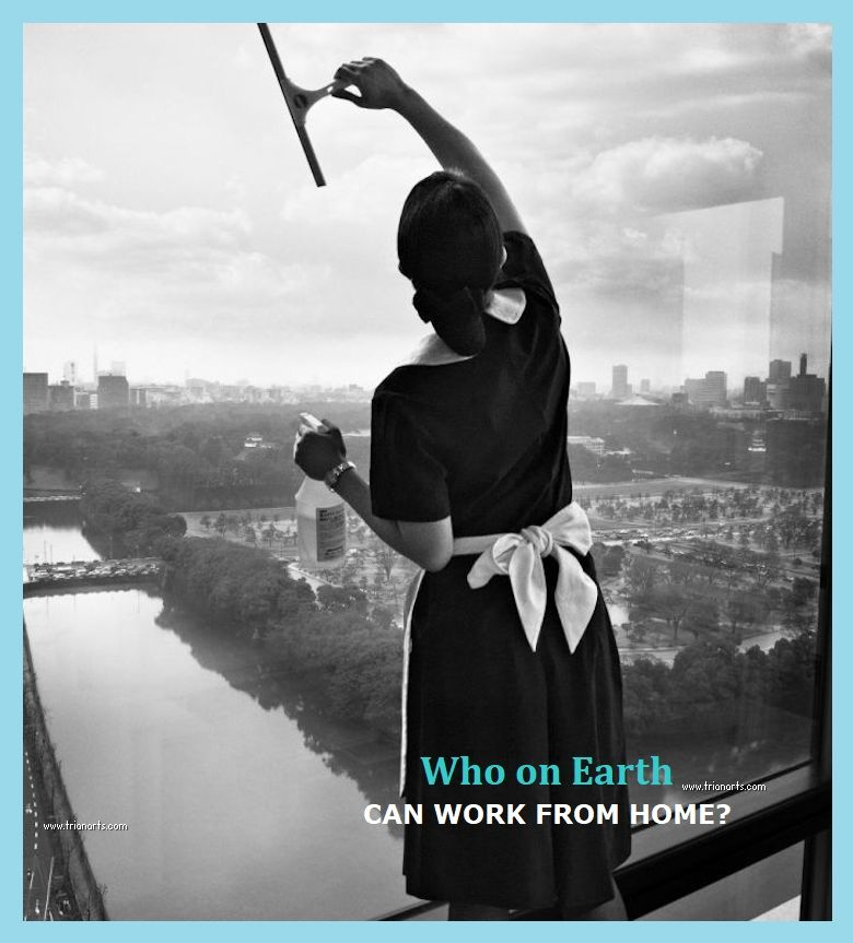 @archillect ⬜️⬜️  🟥WHO ON EARTH CAN WORK FROM HOME? 🌎  In LICs, only 1/26 jobs can be done from H.  Young, poorly educated workers and those on temporary contracts are least likely to be able to work from H and more vulnerable to labor market shocks from COVID-19  ✅