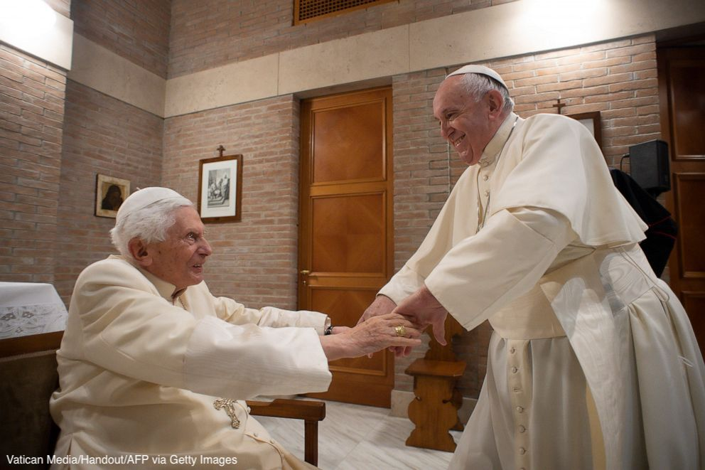 LATEST: Pope Francis and his predecessor, Pope Emeritus Benedict XVI, have received their first dose of a COVID-19 vaccine, according to Vatican spokesman.