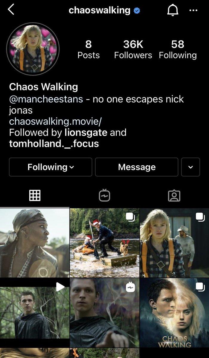 ฉันนึกว่าแอคเขาโดนแฮค 😂  #TomHolland #ChaosWalking #CherryMovie